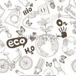 stock-photo-green-world-drawing-save-the-earth-concept-ecology-doodles-icons-seamless-110894282