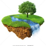 stock-photo-idyllic-natural-landscape-lawn-with-river-waterfall-and-one-tree-fancy-island-in-the-air-73538545