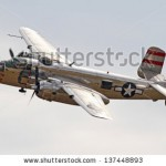stock-photo-monroe-nc-november-world-war-ii-b-mitchell-bomber-performing-during-warbirds-over-monroe-137448893