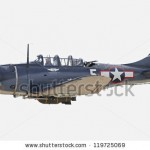stock-photo-monroe-nc-november-world-war-ii-douglas-dauntless-dive-bomber-performs-during-warbirds-over-119725069