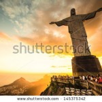 stock-photo-rio-de-janeiro-march-tourists-are-happy-to-see-the-first-sunset-after-a-week-of-rain-and-145375342