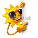 stock-photo-sun-summer-fun-as-a-three-dimensional-cartoon-character-holding-a-blank-white-sign-as-a-symbol-of-103291409