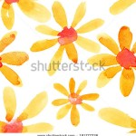 stock-photo-yellow-watercolor-flowers-seamless-pattern-181777226