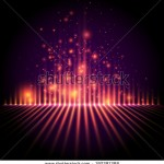 stock-vector-abstract-background-light-column-with-sparks-equalizer-style-vector-192391388