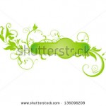 stock-vector-abstract-green-floral-based-shape-vector-illustration-136096208