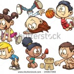 stock-vector-cartoon-kids-playing-vector-clip-art-illustration-with-simple-gradient-each-on-a-separate-layer-155817260