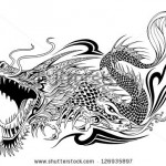 stock-vector-dragon-doodle-sketch-tattoo-vector-126935897