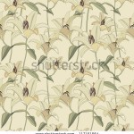 stock-vector-floral-seamless-pattern-with-gentle-flowers-lily-117151564
