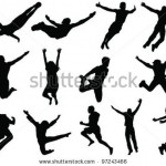 stock-vector-illustration-of-people-jumping-and-flying-silhouettes-97243466