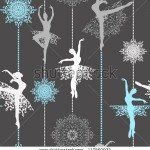 stock-vector-pattern-with-ballerinas-and-snowflakes-retro-christmas-pattern-seamless-christmas-background-117560932
