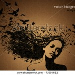 stock-vector-portrait-of-woman-with-birds-flying-from-her-hair-71004682