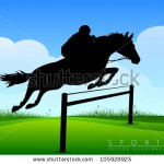 stock-vector-show-jumping-jockey-on-a-beautiful-black-horse-jumps-over-a-barrier-105928925