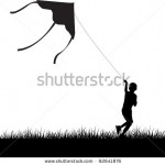stock-vector-silhouette-of-running-boy-with-flying-kite-vector-illustration-92641876