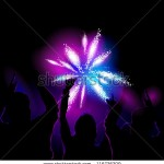 stock-vector-vector-illustration-of-a-crowd-watching-and-cheering-for-fireworks-show-116726209