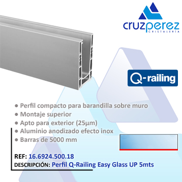 QR Easy Glass UP 5M 16692450018