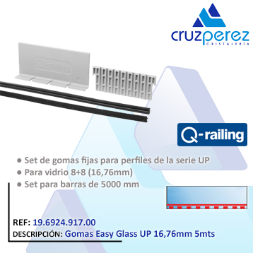 QR Gomas Easy Glass UP 16,76 5m19692491700
