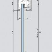 MUTO XL150 techo tecnico_ceiling technical details