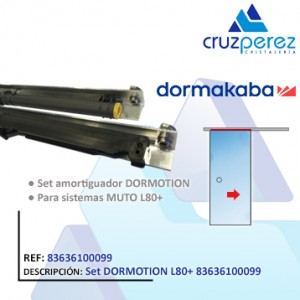 Dormakaba SET DORMOTION L80+ 83636100099